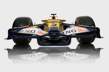 2008 ING Renault F1 Team.